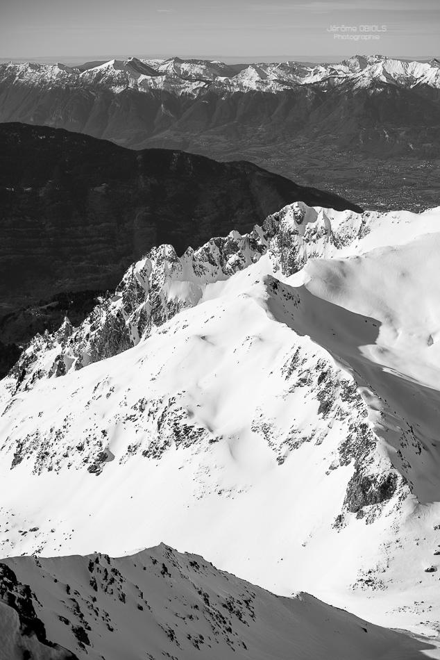 Grand-Mont. Massif du Beaufortin.
