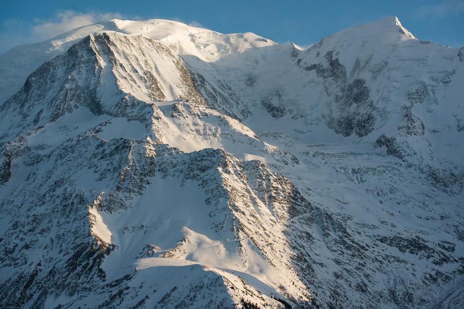 Gouter, Mont Blanc et Bionnassay