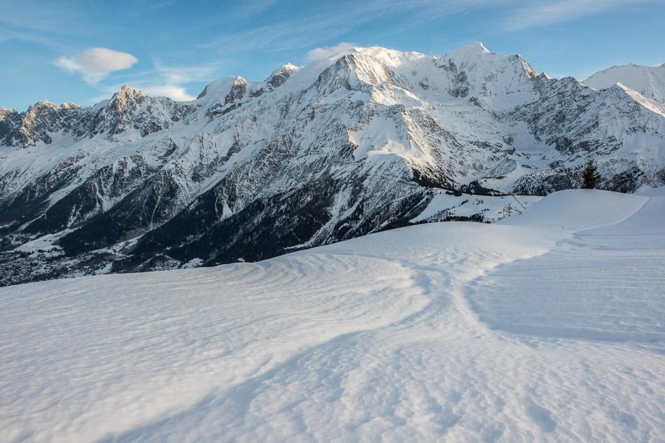 Le Mont Blanc vu du Prarion