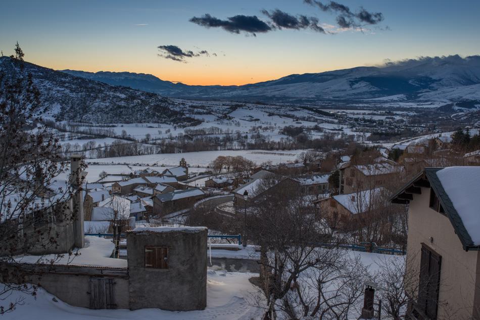 Le village de Llo