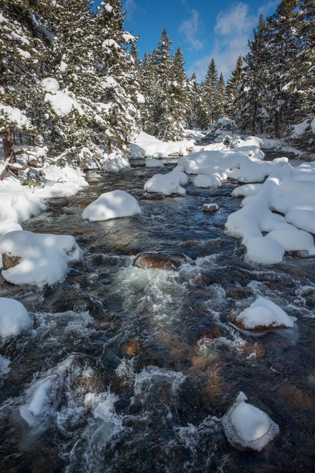La Têt en hiver au Petit Canada