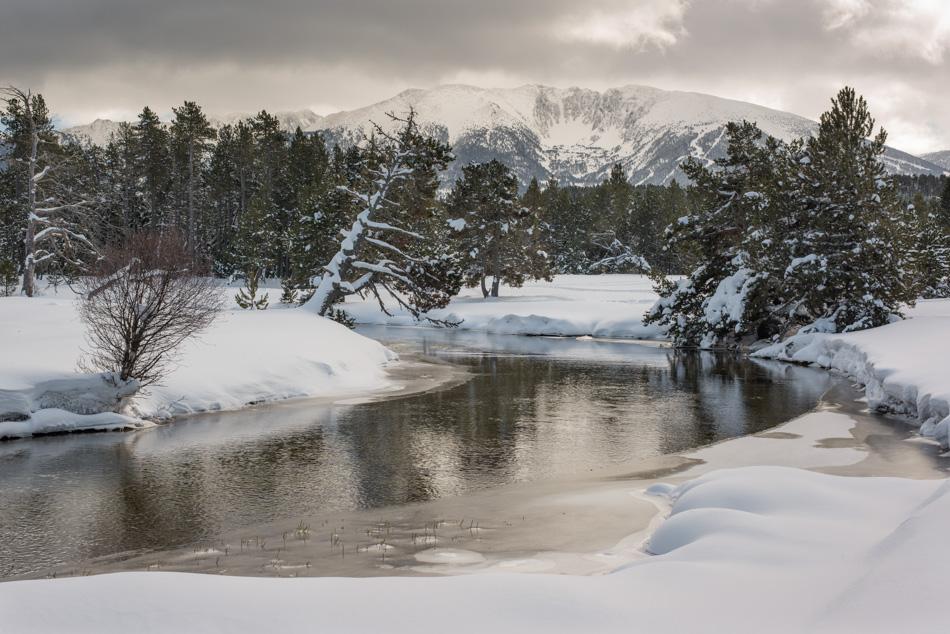Petit Canada et Cambre d'Aze en hiver
