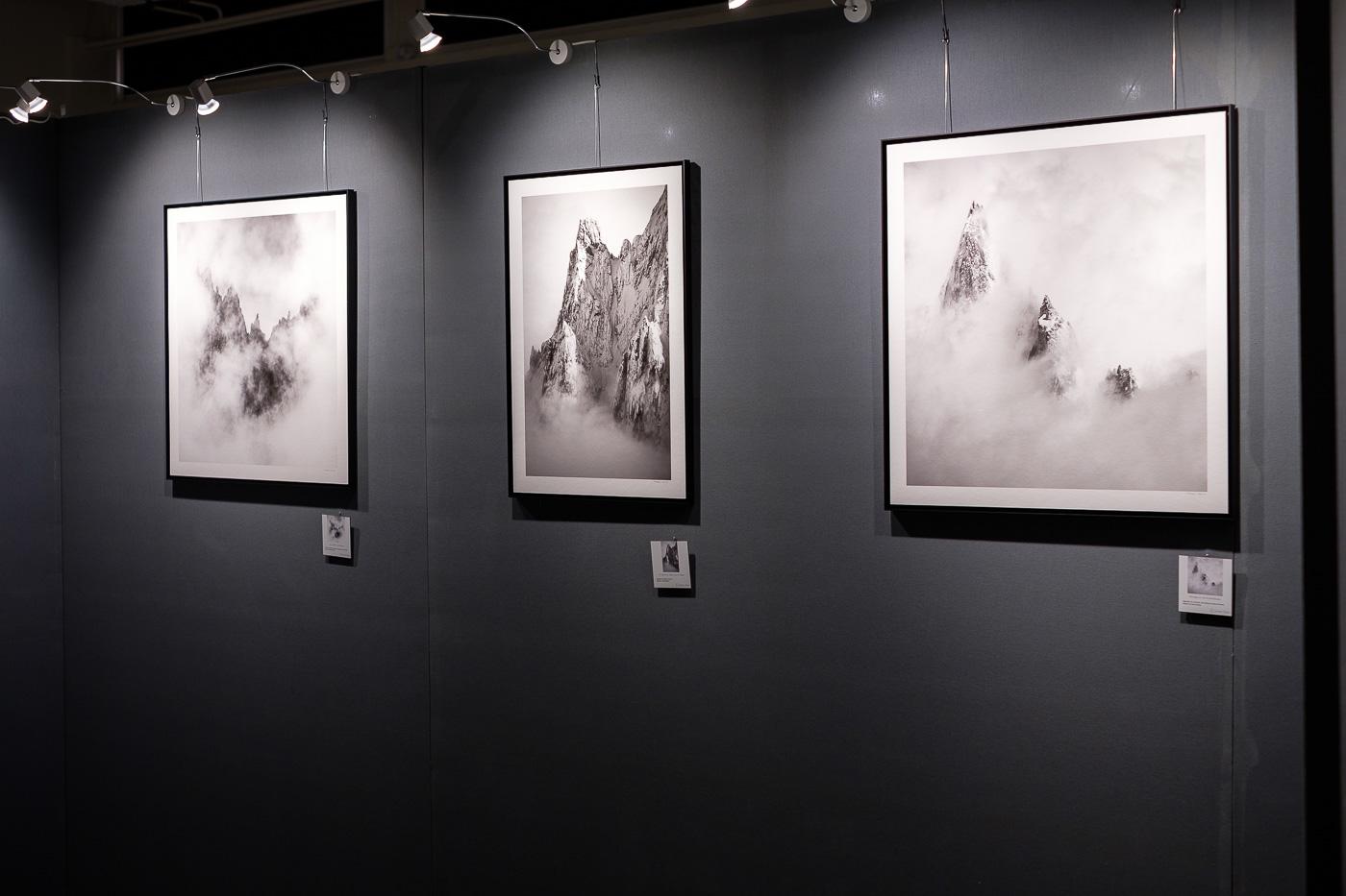 Expo photo montagne noir et blanc