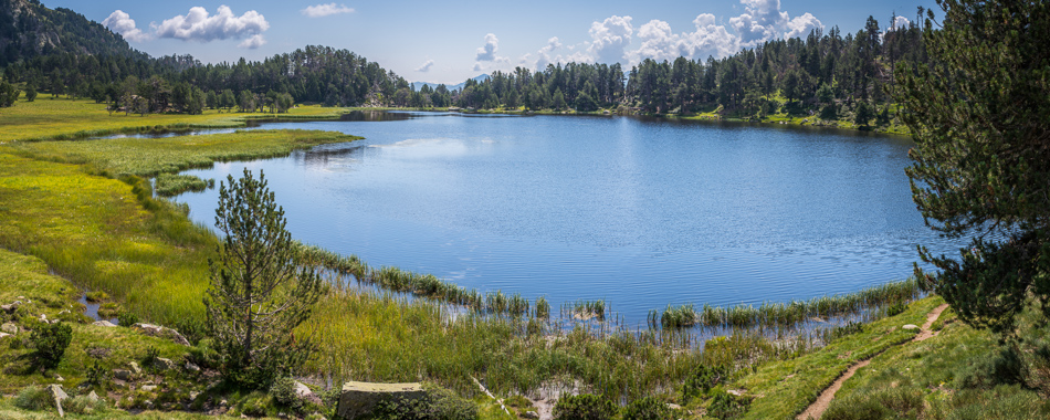 Lac d'Aude panorama