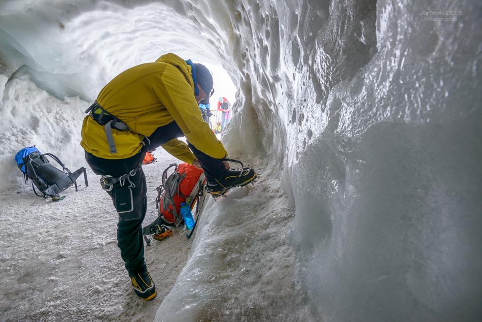 Grotte de glace de l'Aiguille du Midi