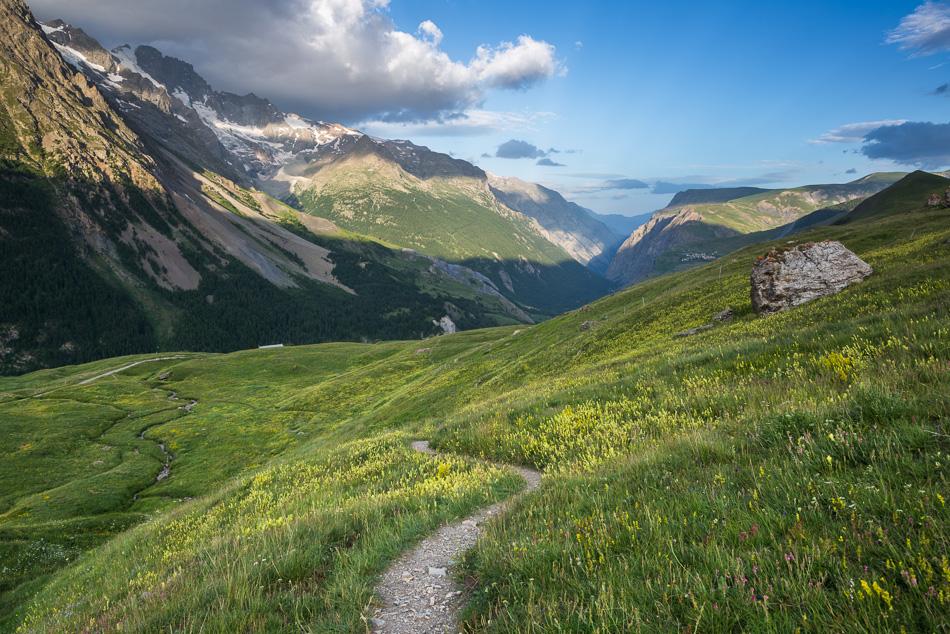 Sentier et vallée de la Romanche