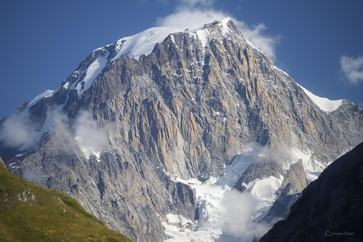 Face sud du Mont-Blanc